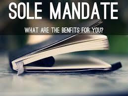 sole_mandate